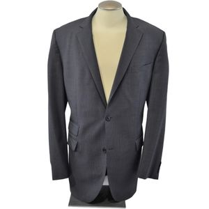 HUGO BOSS Wool Mohair Nailhead Blazer Sport Coat